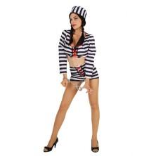 Dámský kostým Sexy vězeňkyně