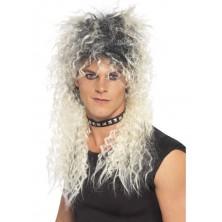 Pánská paruka Hard Rocker blond/černá