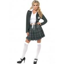 Dámský kostým Neposkvrněná školačka
