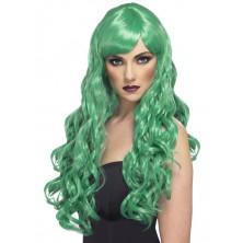 Dámská paruka Desire zelená
