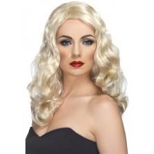Paruka Glamorous blond