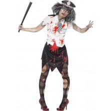 Dámský kostým Zombie policistka