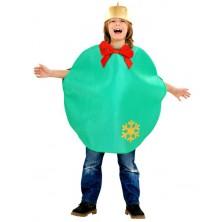 Kostým Baňka zelená pro děti