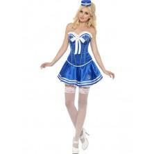 Dámský kostým Sexy námořnice
