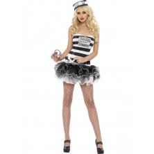 Dámský kostým Sexy vězeňkyně II