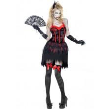 Dámský kostým Zombie burleska