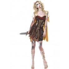 Kostým Zombie gladiátorka
