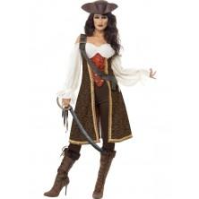 Dámský kostým Mořská pirátka
