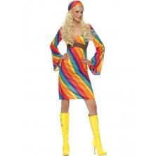 Kostým Duhová hippiesačka