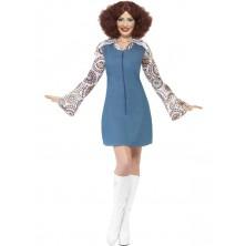Dámský kostým Groovier Dancer modrý