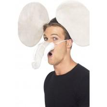 Čelenka s nosem Slon