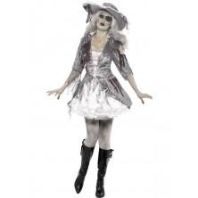 Dámský kostým Duch pirátského zlatíčka