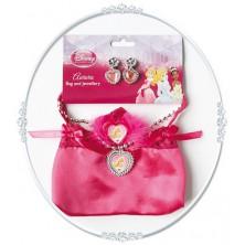 Kabelka a náhrdelník s naušnicemi Růženka