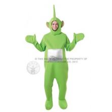 kostým Dipsy Teletubbies pro dospělé