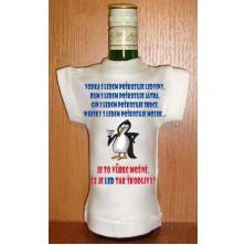 Tričko na flašku Vodka s ledem ...