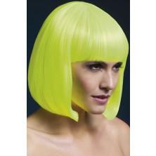 Dámská paruka Elise neonová žlutá