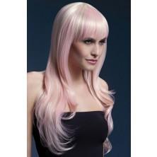 Dámská paruka Sienna blond s nádechem růžové