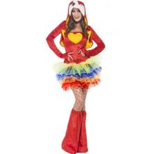 Dámský kostým Sexy papoušek