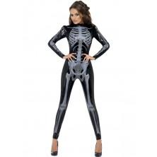 Dámský kostým Kostlivka 3D