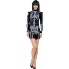 Kostým Kostlivka šaty 3D