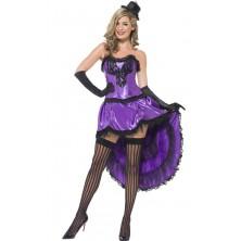 Dámský kostým Burlesque fialová