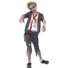 Dětský kostým Zombie školák pro kluky