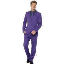 Pánský kostým Fialový oblek