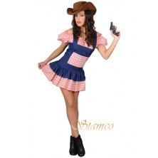 Dámský kostým Sexy salónní dívka