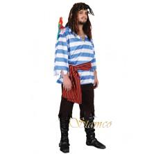 Kostým Modrý pirát