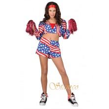 Dámský kostým Cheerleader