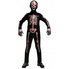 Dětský kostým Krvavý kostlivec