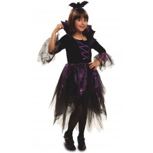 Dívčí kostým na halloween a čarodějnice