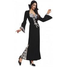 Kostým Černobílá vampírka