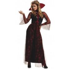 Kostým Červená vampírka