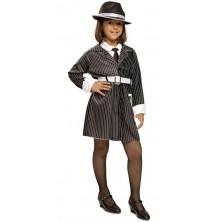 Dětský kostým Mafia pro holky
