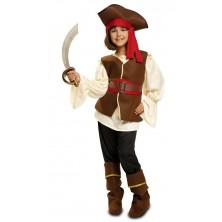 pirátský kostým pro dívky