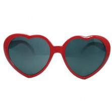 Brýle Srdce červené