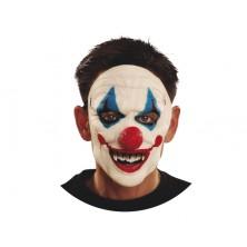 Maska obličejová Zjizvený klaun
