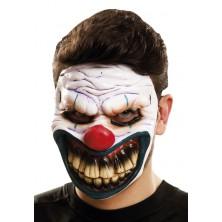 Maska obličejová Ďábelský klaun