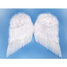 Péřová andělská křídla 55x45 cm