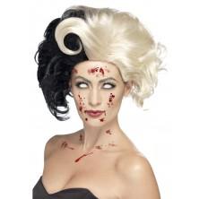 Paruka Madame Evil - čarodějnická paruka