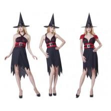 Kostým Čarodějnice 3v1