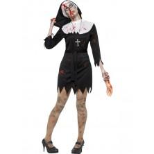 Kostým Zombie jeptiška