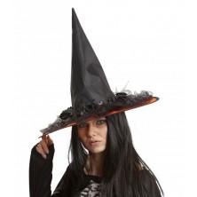 Klobouk Čarodějnice s kytkami