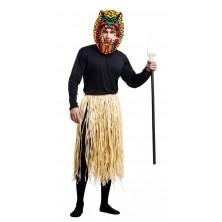 Kostým Zulu - domorodec