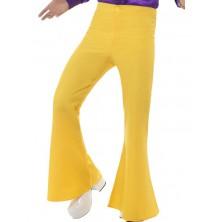 Kalhoty Hippie žluté