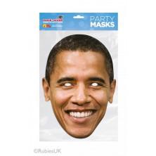 Papírová maska Barack Obama