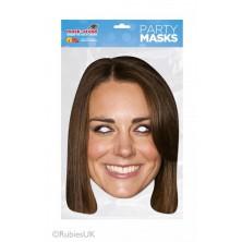Papírová maska Kate Middleton