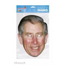 Papírová maska Princ Charles