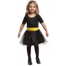 Dětský kostým Superhrdinka černá